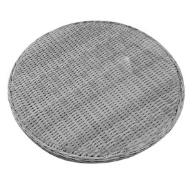 AVH-Collectie Lazy Susan draaiplateau wit grijs 74 cm