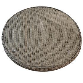 AVH-Collectie Lazy Susan draaiplateau grijs 74cm doorsnede