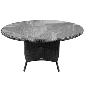 AVH-Collectie Riccione dining tuintafel 150 cm rond antraciet