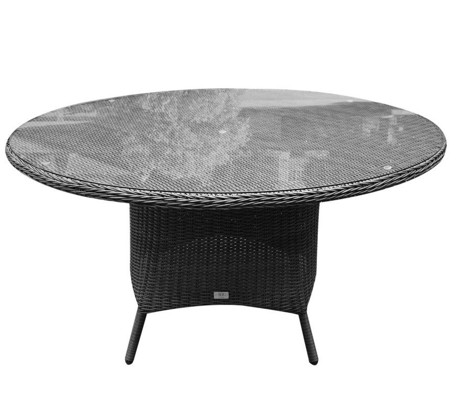 Riccione dining tuintafel 150 cm rond antraciet