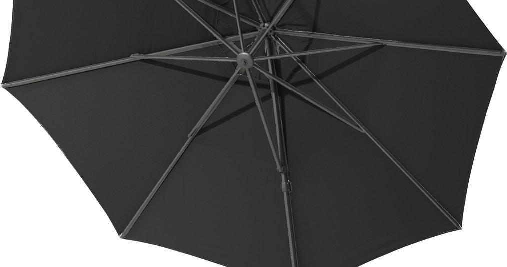 Wat is de beste parasol voor een groot terras?