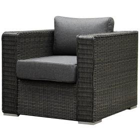 Matino premium lounge tuinstoel antraciet