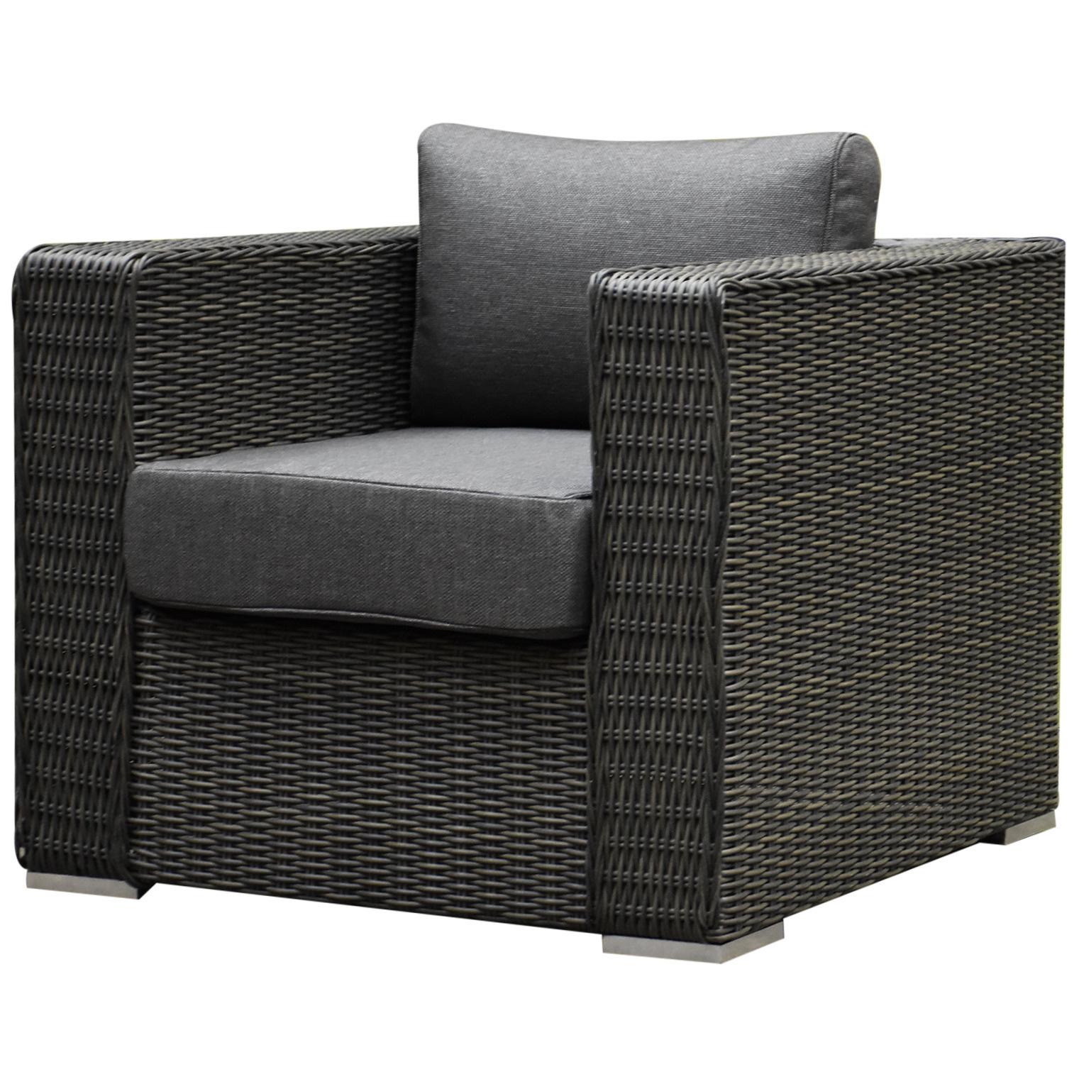 AVH Premium Collection Matino premium lounge tuinstoel antraciet
