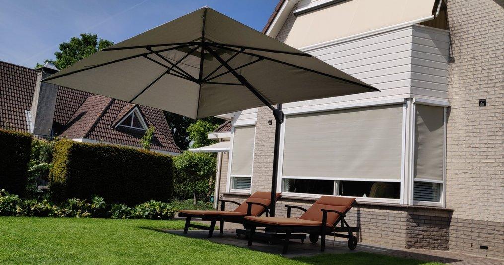Een parasol kopen? Hier moet je aan denken!