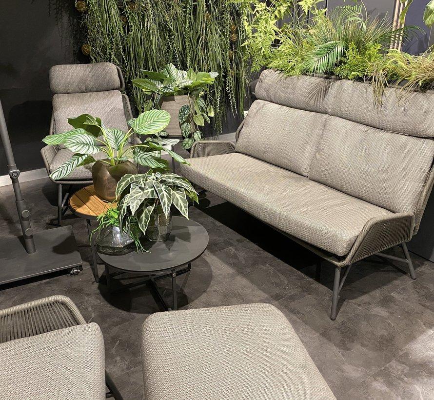 Showroommodel 4 Seasons Outdoor Carthago stoel bank loungeset 4-delig rope