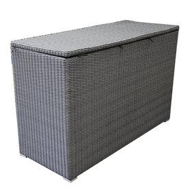 AVH-Collectie Kussenbox groot 167x70xH106 cm antraciet