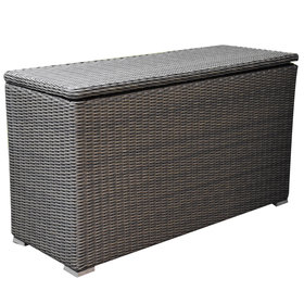 AVH-Collectie Kussenbox klein 126x47xH71 cm antraciet