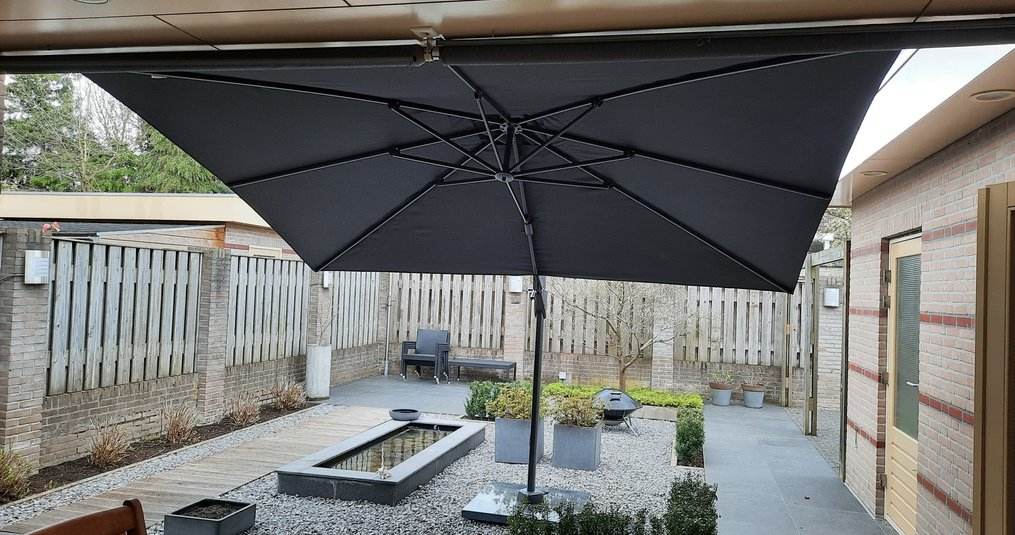 Hoe vind je de perfecte parasol voor in jouw achtertuin?