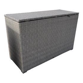 AVH-Collectie Showroommodel Kussenbox groot 167x70xH106 cm grijs