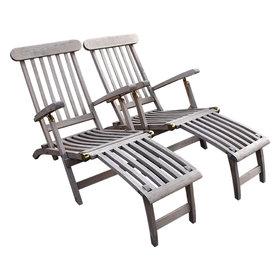 AVH-Collectie Deckchair set van 2 showroom
