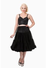 Banned Banned 50s Lifeform Petticoat Long Black 27'