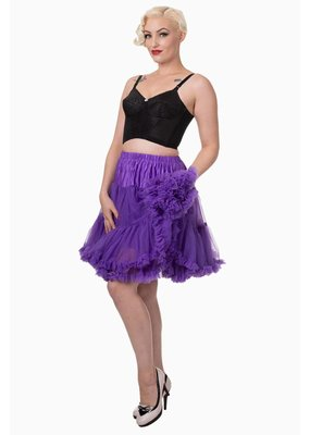 Banned PRE ORDER Banned Walkabout Petticoat Purple 21'