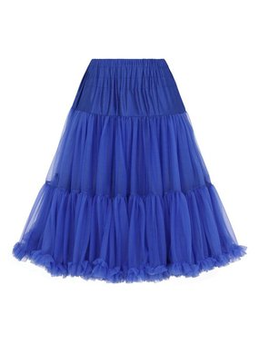 Banned PRE ORDER Banned Starlite Petticoat Royal Blue 23'