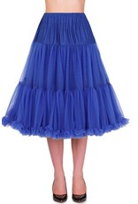 Banned PRE ORDER Banned Lifeform Petticoat Royal Blue 27'