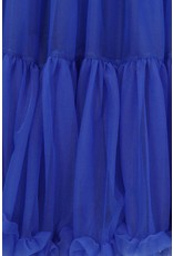 Banned Banned 50s Lifeform Petticoat Long Royal Blue 27'
