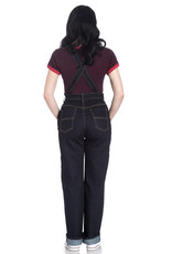 Hell Bunny Hell Bunny 1940s Elly May Denim Dungarees