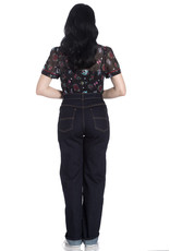 Hell Bunny PRE ORDER Hell Bunny 1940s Weston Denim Jeans