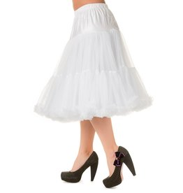 Banned PRE ORDER Banned Lifeform Petticoat White 27'