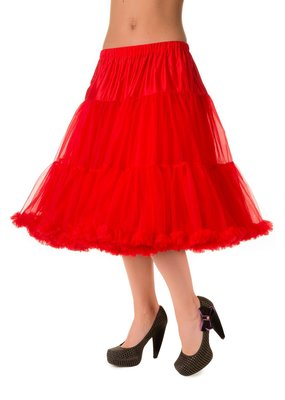 Banned PRE ORDER Banned Lifeform Petticoat Red 27'