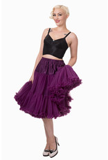 Banned Banned 50s Lifeform Petticoat Long Aubergine 27'