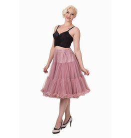 Banned PRE ORDER Banned Lifeform Petticoat Dusty Pink 27'