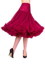 Banned Banned 50s Lifeform Petticoat Long Bordeaux 27'