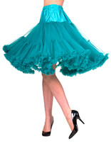 Banned Banned 50s Lifeform Petticoat Long Emerald 27'