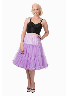 Banned PRE ORDER Banned Lifeform Petticoat Lavender 27'