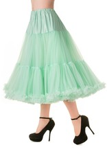 Banned Banned 50s Lifeform Petticoat Long Mint 27'