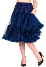Banned Banned 50s Lifeform Petticoat Long Navy 27'