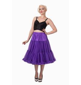 Banned PRE ORDER Banned Lifeform Petticoat Purple 27'