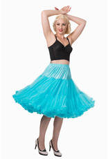Banned Banned 50s Lifeform Petticoat Long Turquoise 27'
