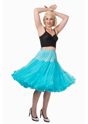 Banned PRE ORDER Banned Lifeform Petticoat Blue 27'