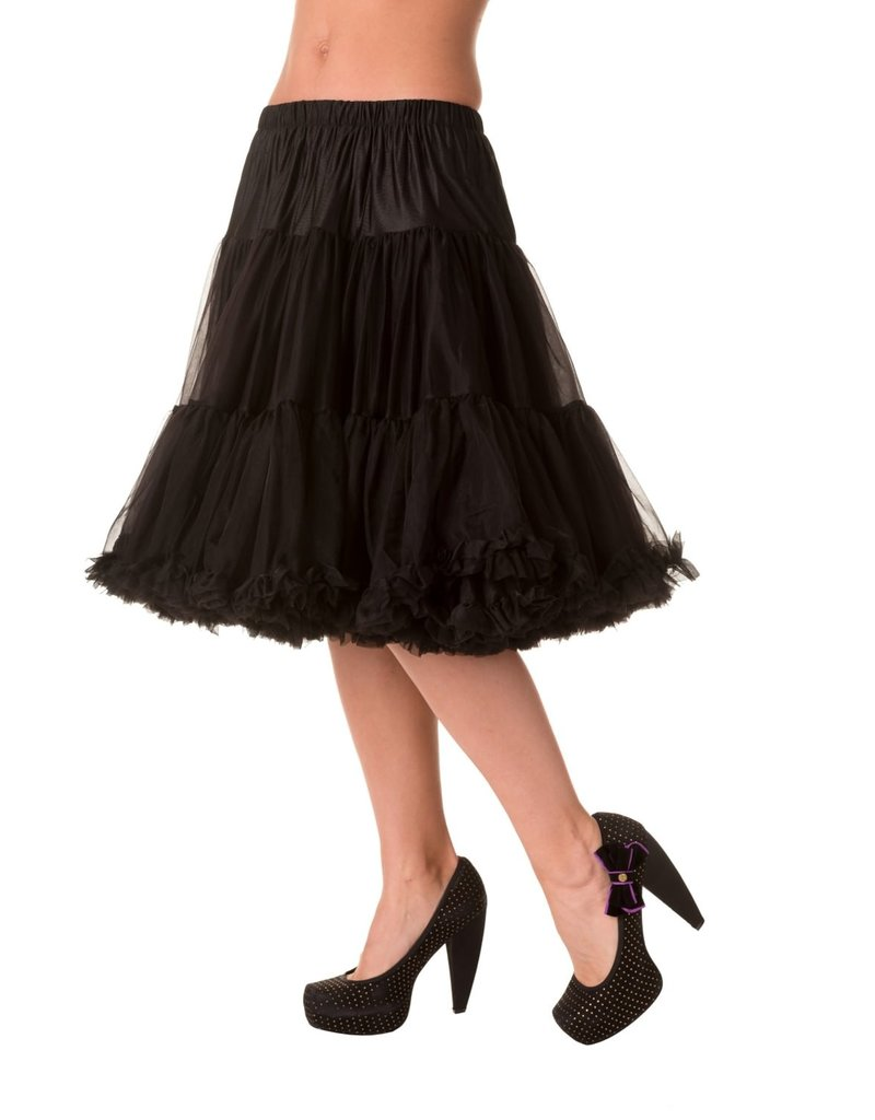 Banned Banned 50s Starlite Petticoat Medium Black 23'