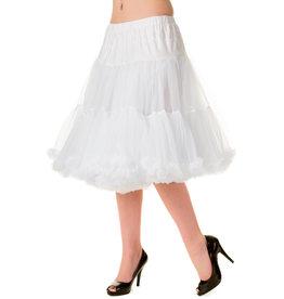 Banned PRE ORDER Banned Starlite Petticoat White 23'