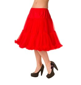 Banned PRE ORDER Banned Starlite Petticoat Red 23'