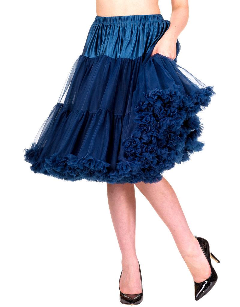 Banned anned 50s Starlite Petticoat Medium Navy 23'