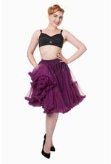 Banned PRE ORDER Banned Starlite Petticoat Aubergine 23'