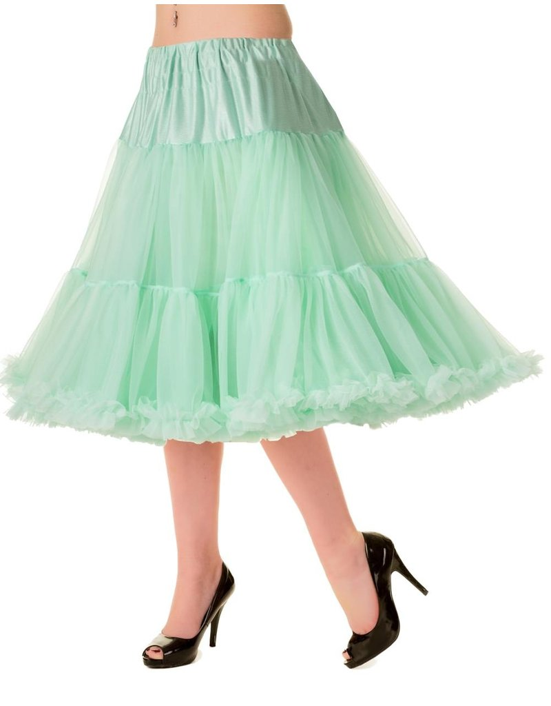 Banned Banned 50s Starlite Petticoat Medium Mint 23'