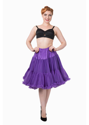 Banned Banned 50s Starlite Petticoat Medium Purple 23'