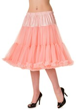 Banned PRE ORDER Banned Starlite Petticoat Coral Pink 23'