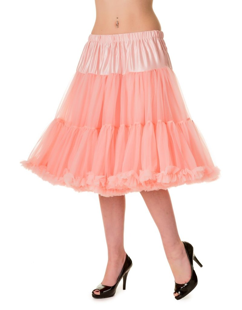 Banned Banned 50s Starlite Petticoat Medium Soft Pink 23'