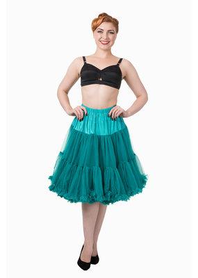 Banned Banned 50s Starlite Petticoat Medium Emerald 23'