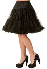 Banned Banned 50s Walkabout Petticoat Short Black 21'