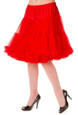 Banned Banned 50s Walkabout Petticoat Short Red 21'