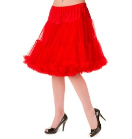 Banned PRE ORDER Banned Walkabout Petticoat Red 21'