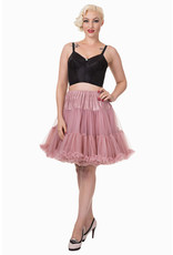 Banned Banned 50s Walkabout Petticoat Short Dusty Pink 21'