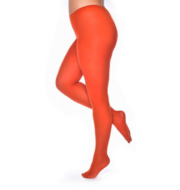 Pamela Mann Pamela Mann 50 Denier Curvy Figure Tights Orange Red