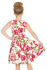 Hearts and Roses Hearts & Roses 50s Sweet Rose Swing Kids Dress