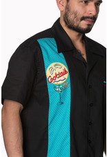 Banned Banned Retro 50s Bowler Tropical Cocktail Shirt